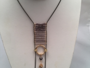 Ladder Necklace with Spike